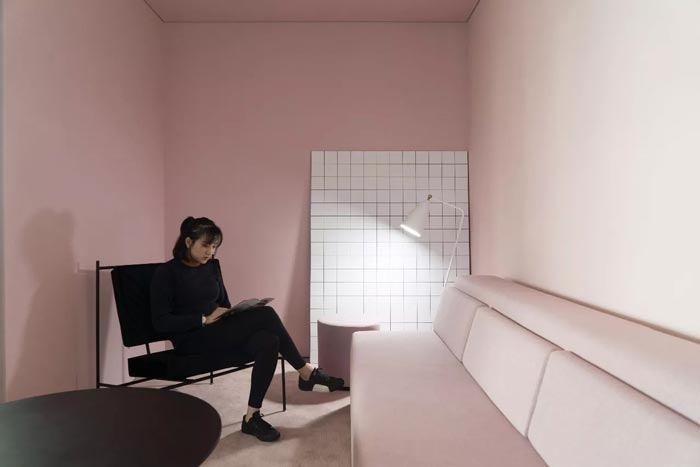 8000平方办公室接待区设计方案