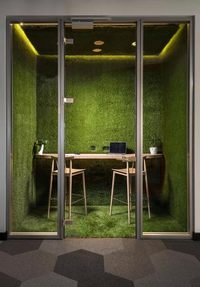 2500平方独立办公装修设计效果图
