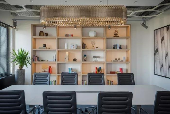 2500平方办公室会议室装修设计效果图