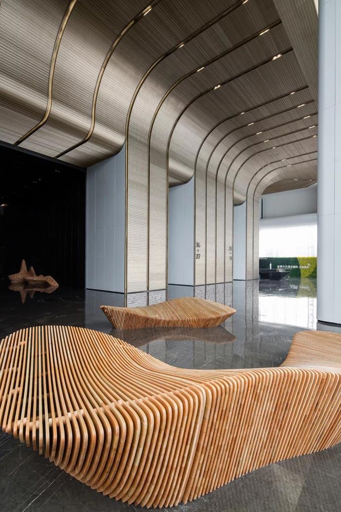 3000平方办公楼大堂设计方案