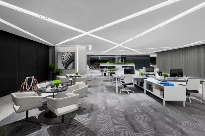 3000平方办公楼办公区设计方案