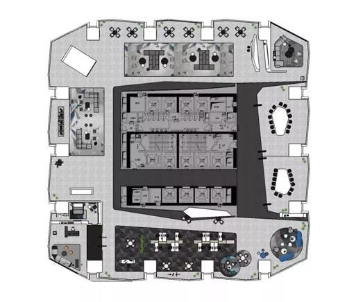 3000平方办公楼设计方案