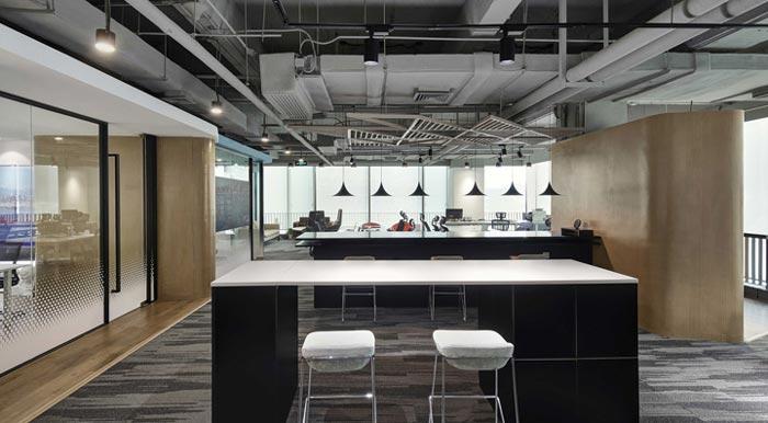 400平方办公室开放区设计方案