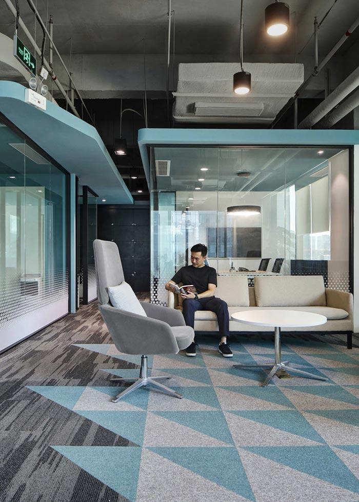 400平方办公室休息区设计方案