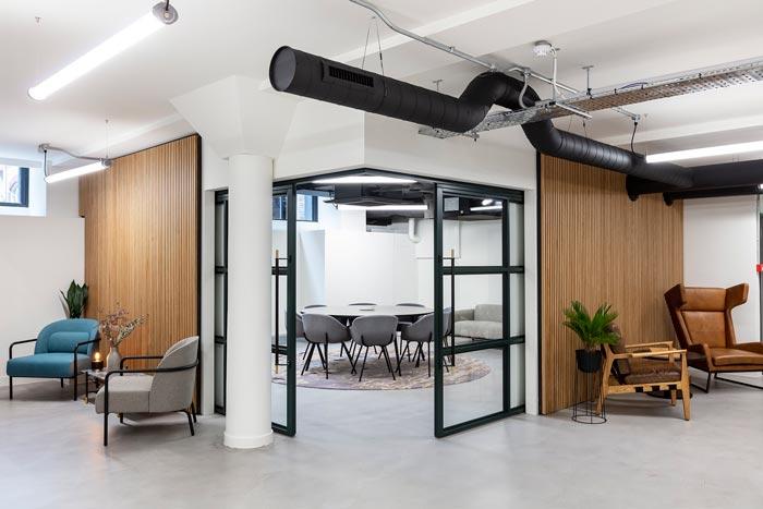 两层办公室会议室装修设计效果效果图
