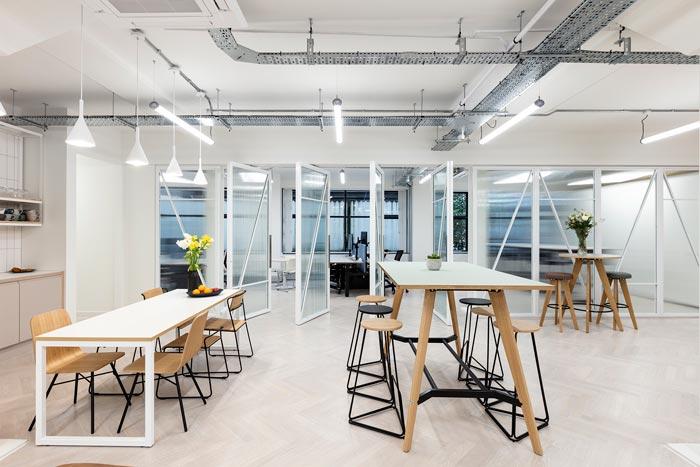 两层办公室茶水区装修设计效果效果图