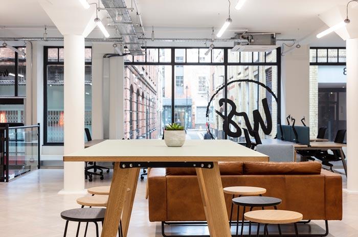 两层办公室休息区装修设计效果效果图