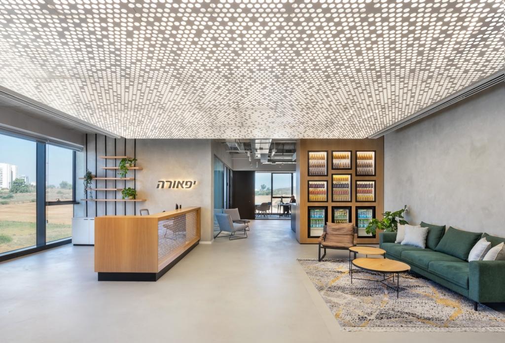饮料制造办公室装修设计【3100平方米】