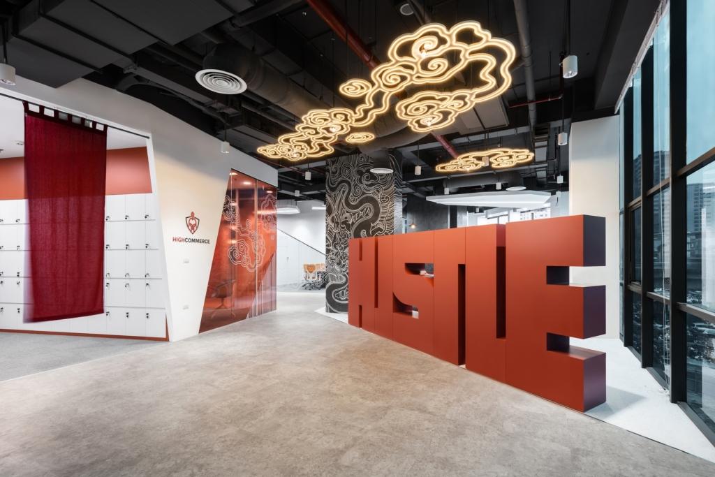 创意推广办公室装修案例【810平方米】